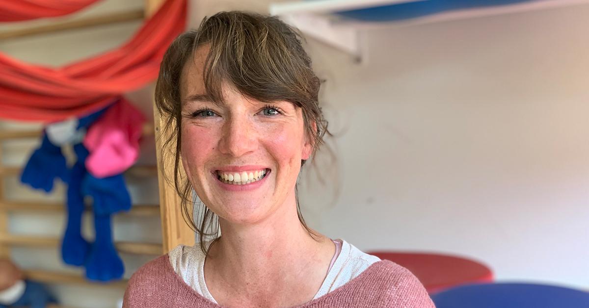 Carolin Schims från LVR-skolan Volksgarten i Düsseldorf