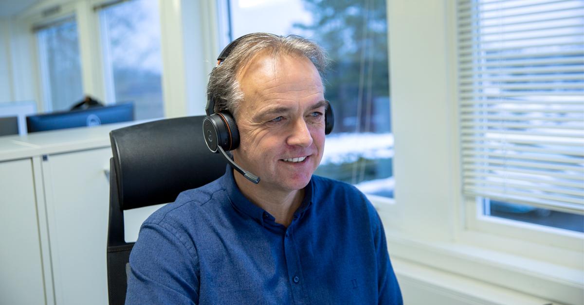 Morten Forsberg kundesevice Made for Movement