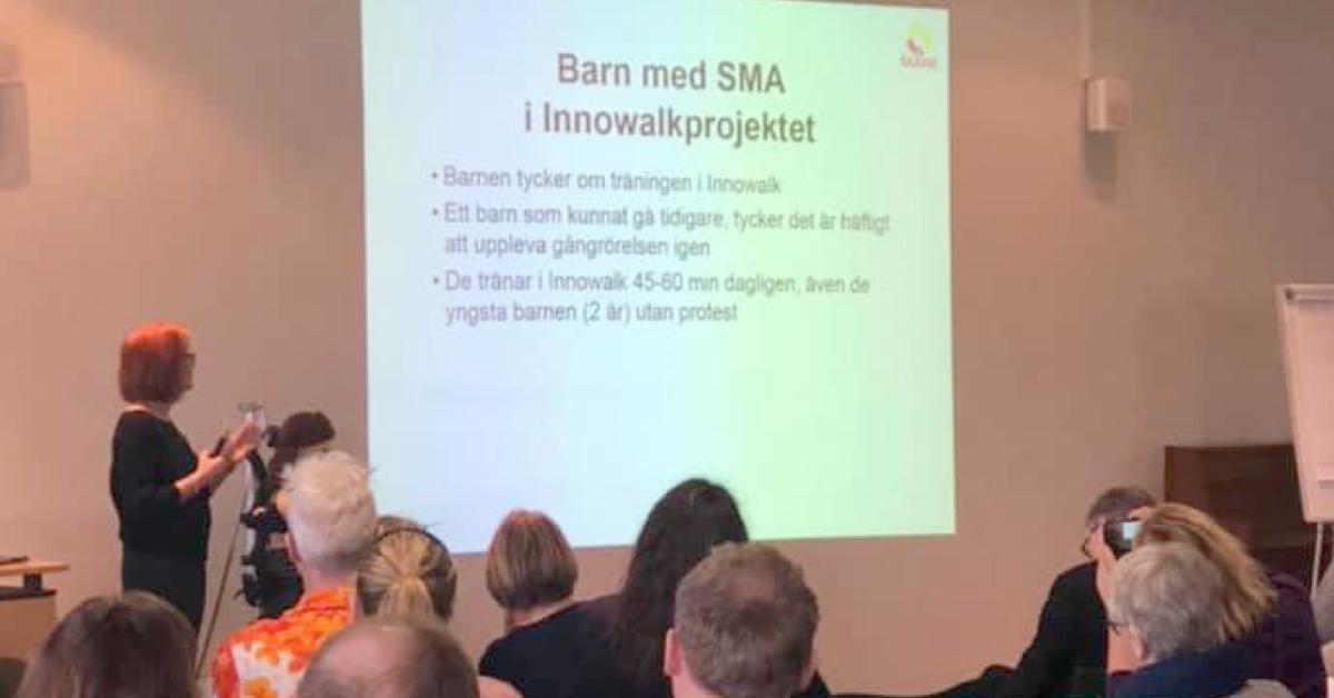 Ny behandlingsmetode innen SMA gir nye muligheter – Høydepunkter fra rehab-dag i Lund