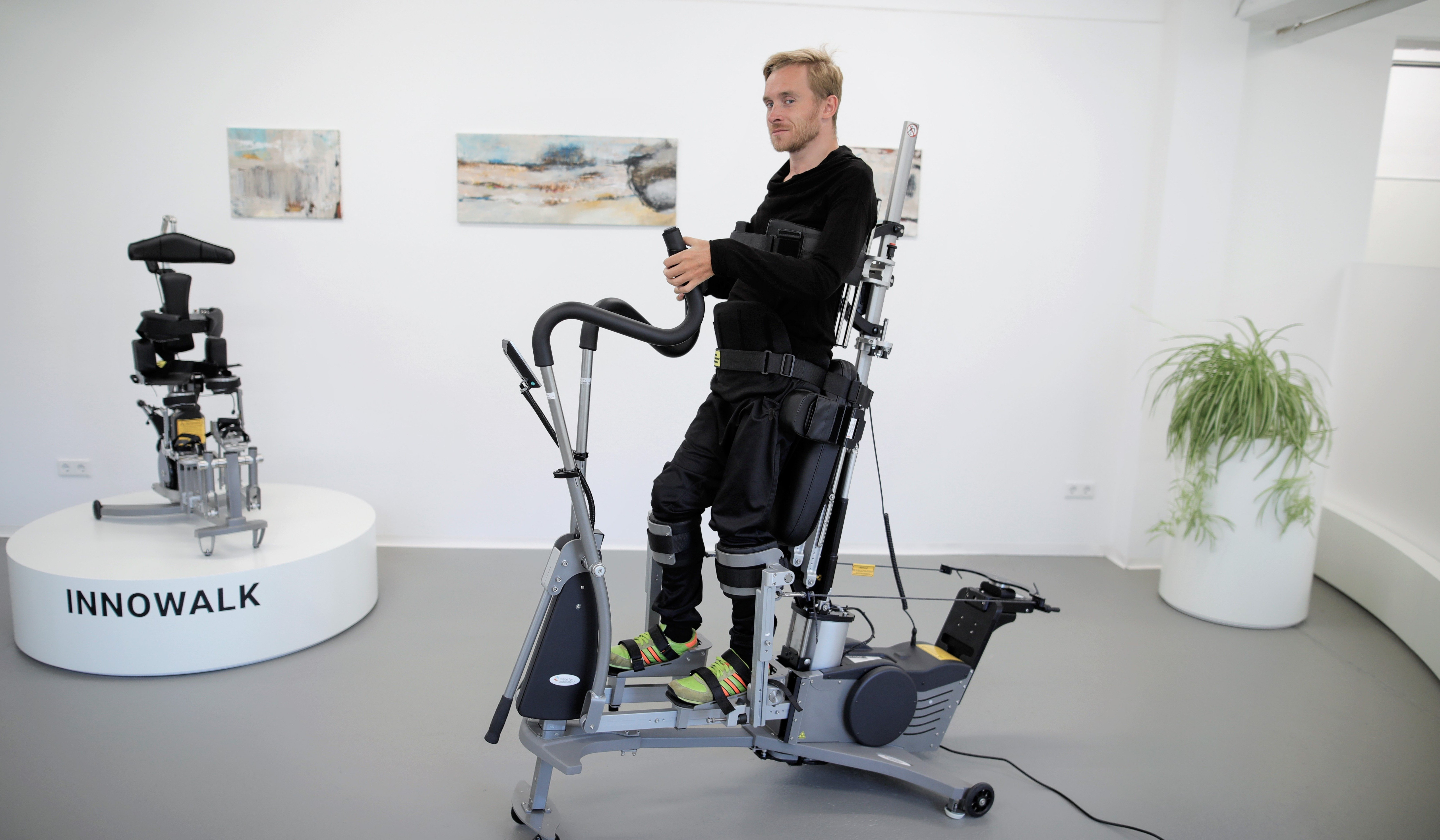 One of the most innovative rehabilitation centres in Germany uses the Innowalk Pro